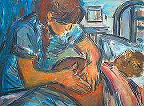Ante-natal examination